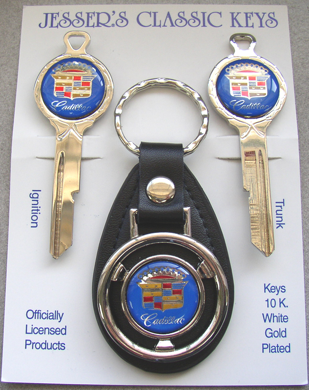 Plymouth FURY Deluxe Classic White Gold Key Set 1966 1967 ...